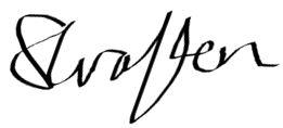 Sophie's Signature